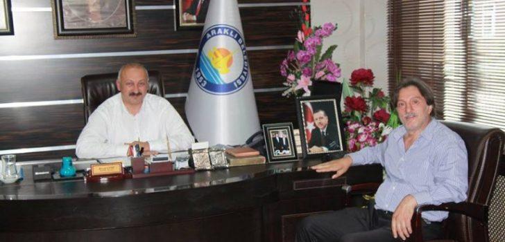 Belçika Türk Spor Federasyonu Asbaşkanı Koçaslan'dan Başkan Çebi'ye Ziyaret