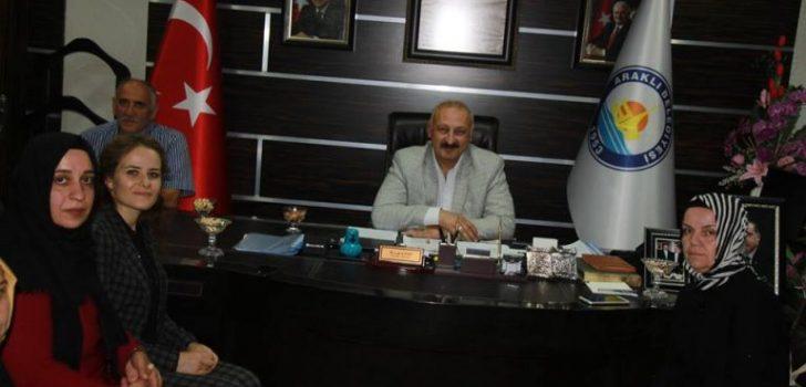 Ak Parti Trabzon Kadın Kolları Başkanı Sürmen'den Başkan Çebi'ye Ziyaret