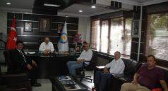 Emniyet Müdürü Ortaasyalı'dan Başkan Çebi'ye Ziyaret