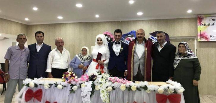 Başkan Çebi Hafta Sonu Çiftlerin Mutluluklarına Şahitlik Etti