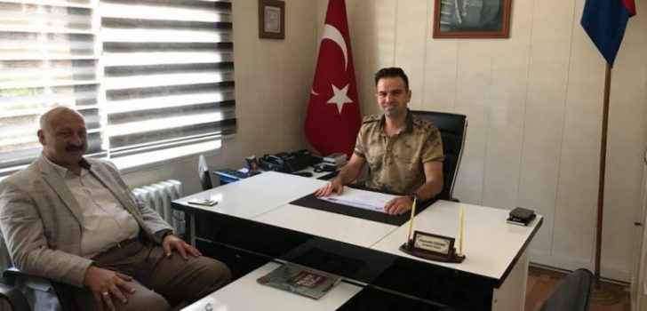 Özdemir, Jandarma Komutanlığı Görevine Başladı