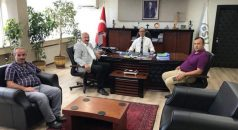 Başkan Çebi, DSİ Bölge Müdürü Kasap'ı Ziyaret Etti