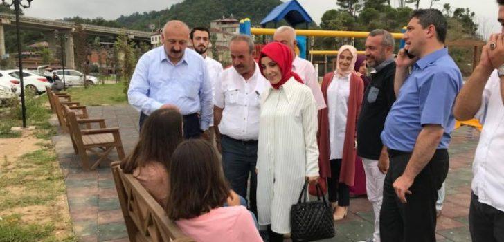 Trabzon Milletvekili Bahar Ayvazoğlu Tüm Gününü Araklı'da Geçirdi