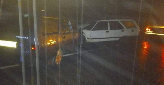 Araklı Küçükdere mevkii'nde trafik kazası