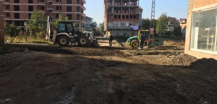 Araklı'da Çevre Düzenleme Çalışmaları Aralıksız Devam Ediyor