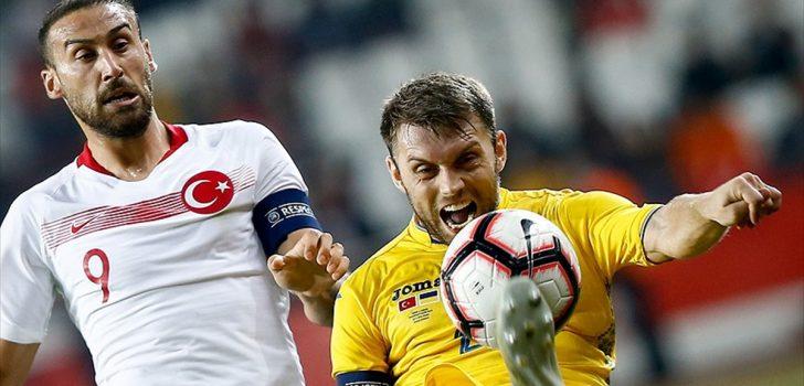 Türkiye hazırlık maçında Ukrayna ile berabere kaldı