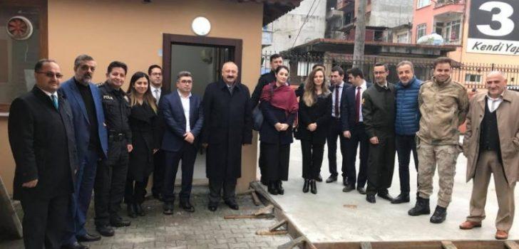 Araklı Emniyet Müdürlüğü Sosyal Dinlenme Tesisleri Açıldı