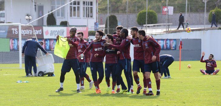 Trabzonspor'da Aytemiz Alanyaspor maçı hazırlıkları