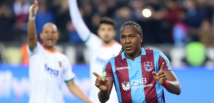 Trabzonspor'un golcü üçlüsü