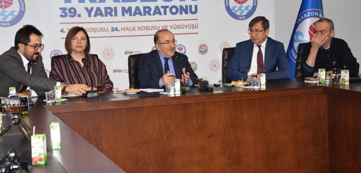 Uluslararası Trabzon 39. Yarı Maratonu hafta sonu yapılacak