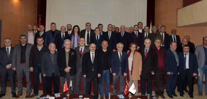 Trabzon'da Gürcistan Yatırım Fırsatları ve Vergi Mevzuatı toplantısı yapıldı