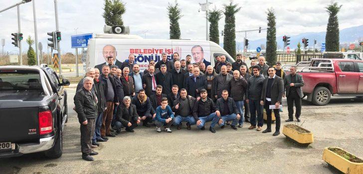 Başkan Çebi Şoför Esnafıyla Bir Araya Geldi