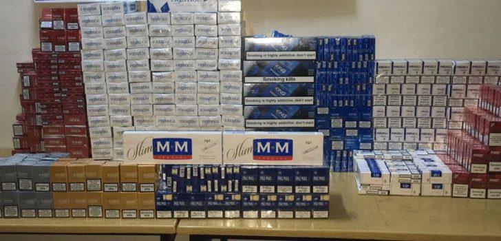 Trabzon'da kaçak sigara operasyonu