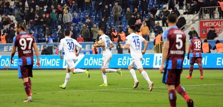 Trabzonspor'un ikinci yarı hüsranı