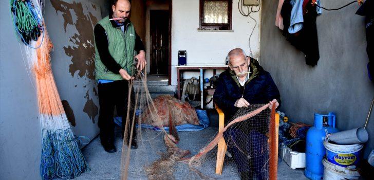 Trabzon'da beş kuşaktır balıkçılık yapan aile denizden ayrı kalamıyor