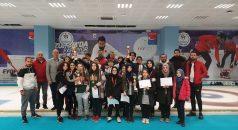 Okullararası Floor Curling il birinciliği müsabakaları