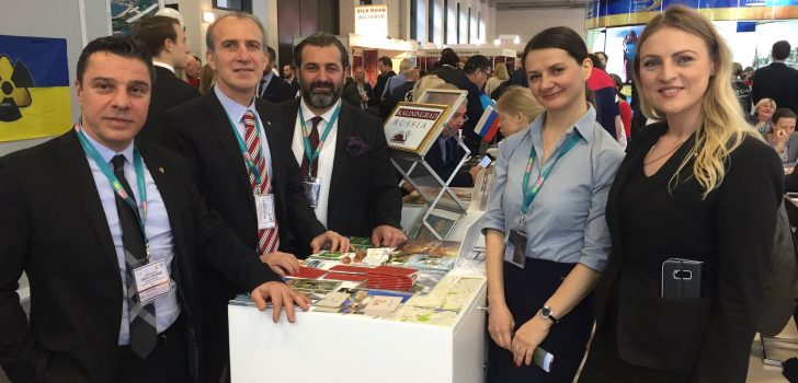 Trabzonlu turizmciler Berlin'de dünya pazarı ile buluştu