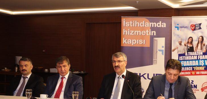 Trabzon'da 8. İstihdam Fuarı düzenlenecek