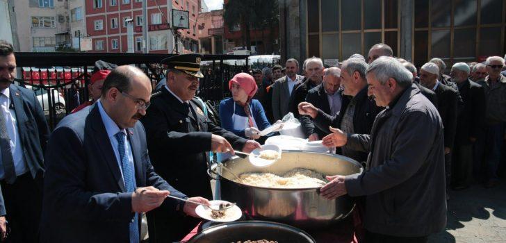 Trabzon'da, şehitler için mevlit okutuldu