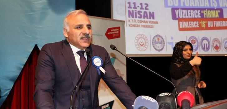 """""""8. Trabzon İstihdam Fuarı"""" başladı"""