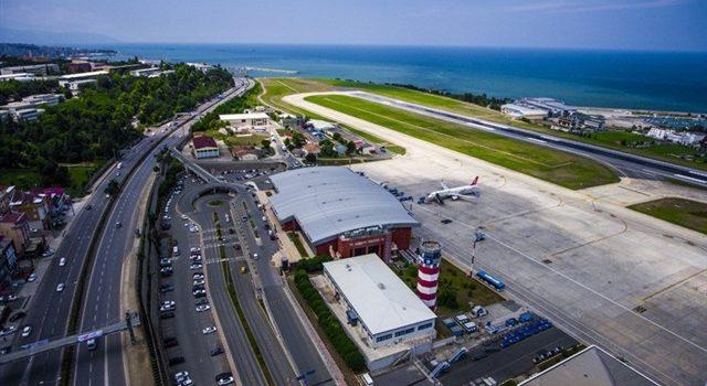 Trabzon Havalimanı'ndan üç ayda 794 bin 94 yolcu seyahat etti