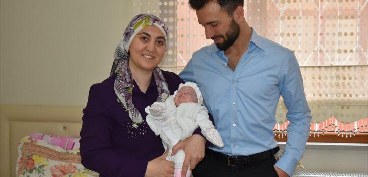Trabzonlu çiftin 8 yıllık bebek hasreti sona erdi!
