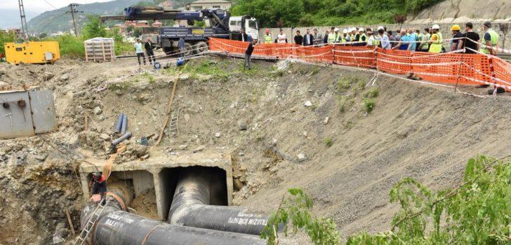Trabzon'da sular erken gelecek