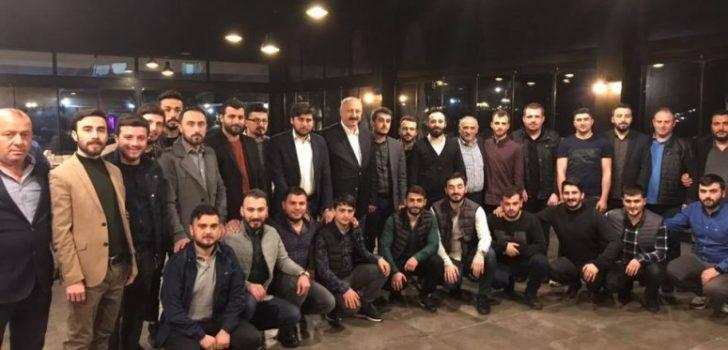 Başkan Çebi, Gençlerle Sahur Yaptı