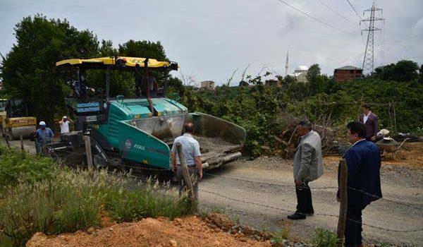 Trabzon'a 40 Bin metreküp asfalt – Çalışmalar sürüyor