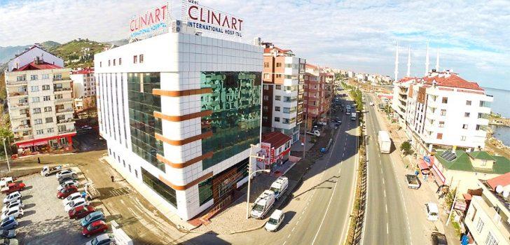 Trabzon'da icradan satılık hastane!