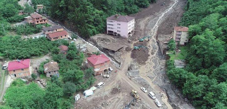 Trabzon Araklı'daki afetin raporu açıklandı