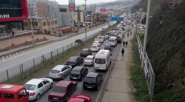 Trabzon'da 38 araç trafikten men edildi!