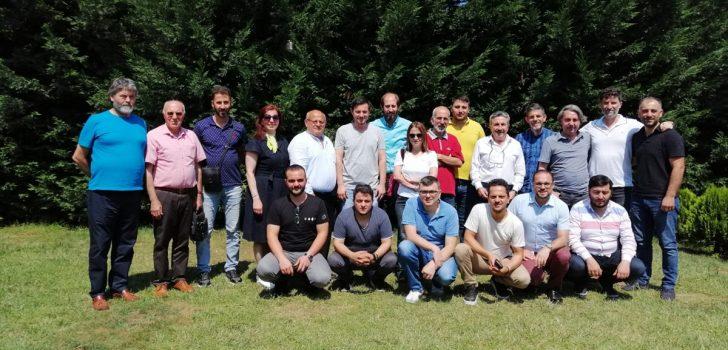 Trabzon'da spor muhabirleri bir araya geldi