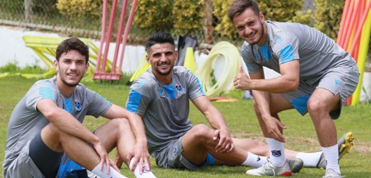 Trabzonspor çalışmalara hız verdi!