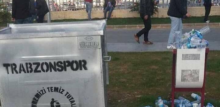 Trabzon'da çöp konteynırları yer altına alınıyor