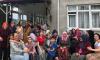 Trabzon'da 100. yaşını yeğenleri ile birlikte kutladı
