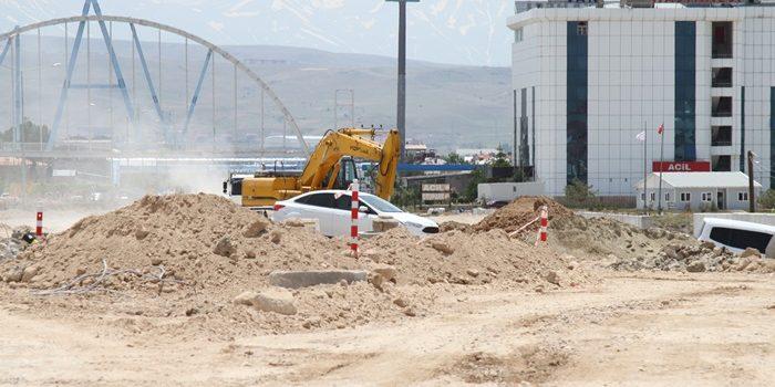 Araklı'da vatandaşın kum şantiyesi isyanı!