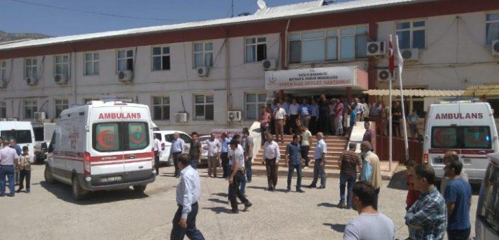 Trabzon plakalı araç Batman'da kaza yaptı