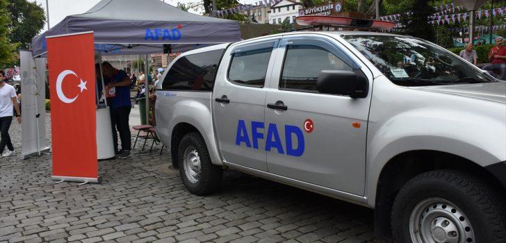 AFAD vatandaşları bilgilendiriyor