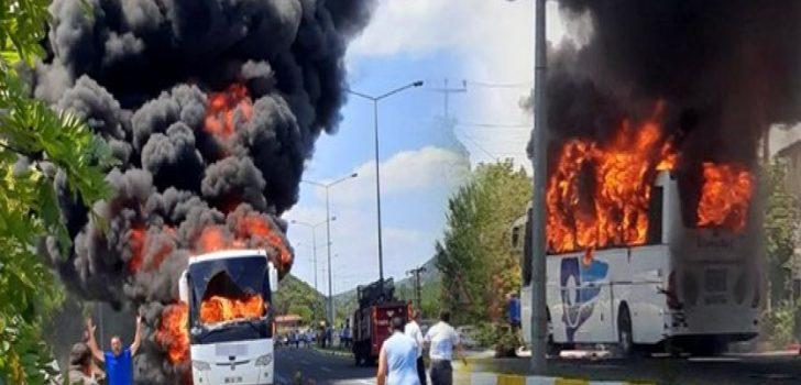 5 kişinin öldüğü Otobüs yangını ile ilgili yeni gelişme