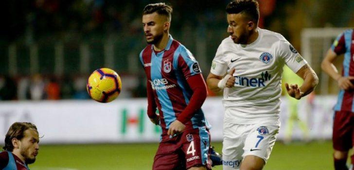 Trabzonspor ile Kasımpaşa 21. randevuda