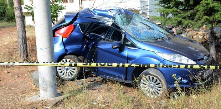 Trabzon yolunda kaza – Özel harekat polisi hayatını kaybetti