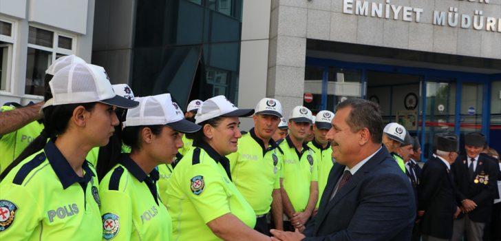 Trabzon Emniyet Müdürü Çevik'e uğurlama töreni