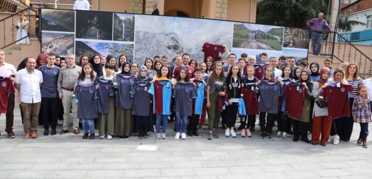 Trabzon'un göğsünü kabarttılar formaları kaptılar!