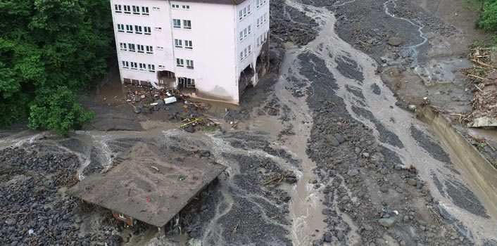 Araklı'da selin yıktığı okul için yeni yer belirlendi