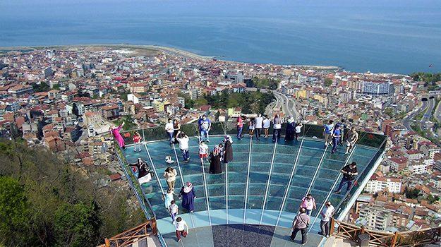 İşte Trabzon'da Boztepe'ye yapılacak seyir terası