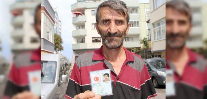 Trabzon'da, kimliğini kaybetti, başına gelmeyen kalmadı