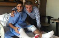 Trabzonspor'da Yusuf Sarı ameliyat oldu