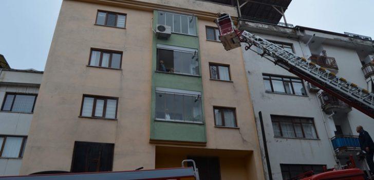 Trabzon'da korkutan yangın!