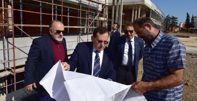 Trabzon için önemli merkezde sona doğru